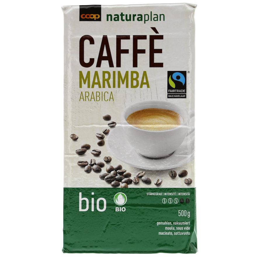 Caffè Marimba Arabica, gemahlen