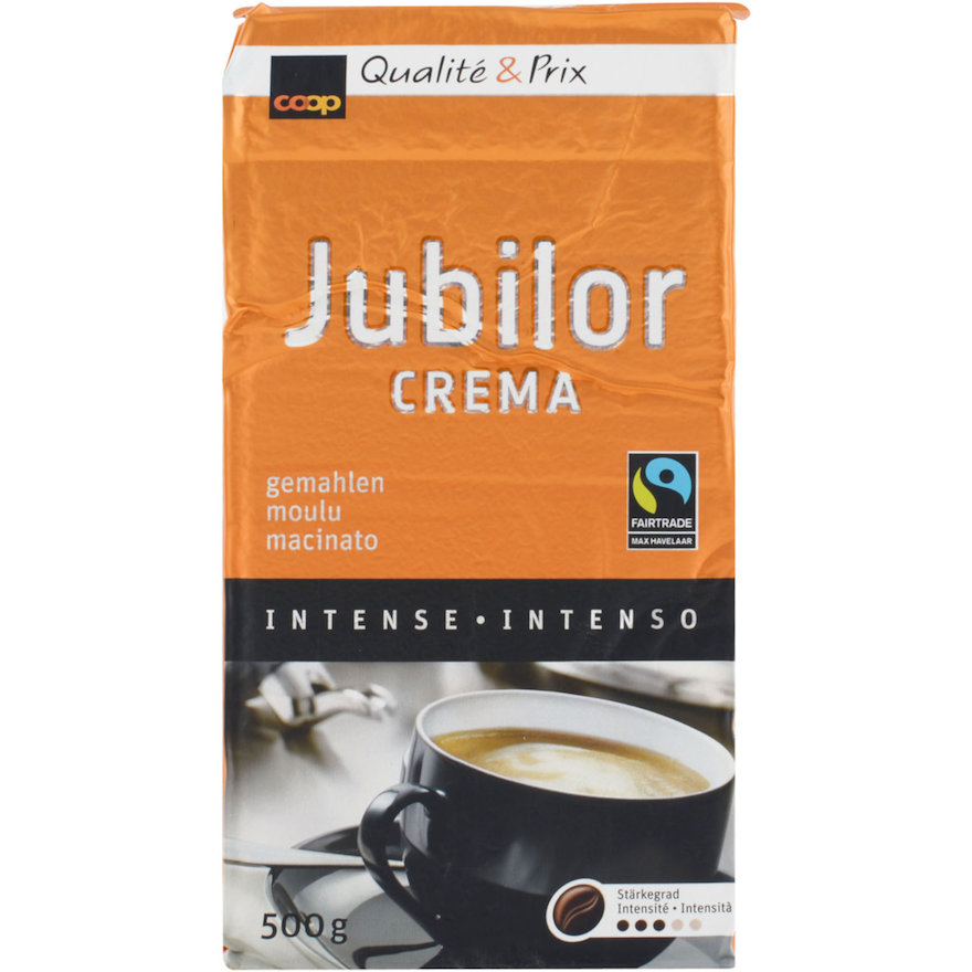 Jubilor Crema, gemahlen (4x500g)
