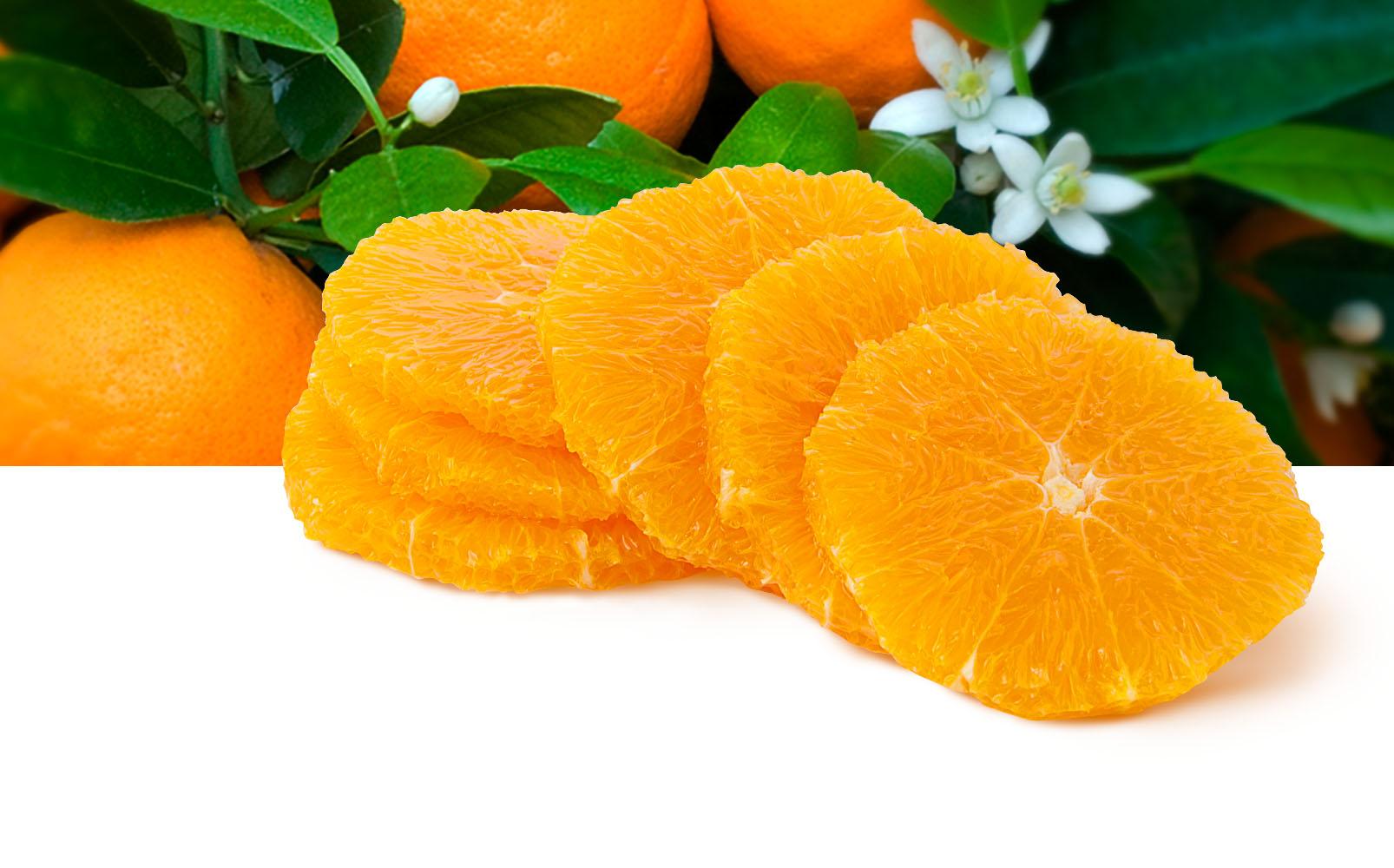 Orangen Scheiben, 5mm