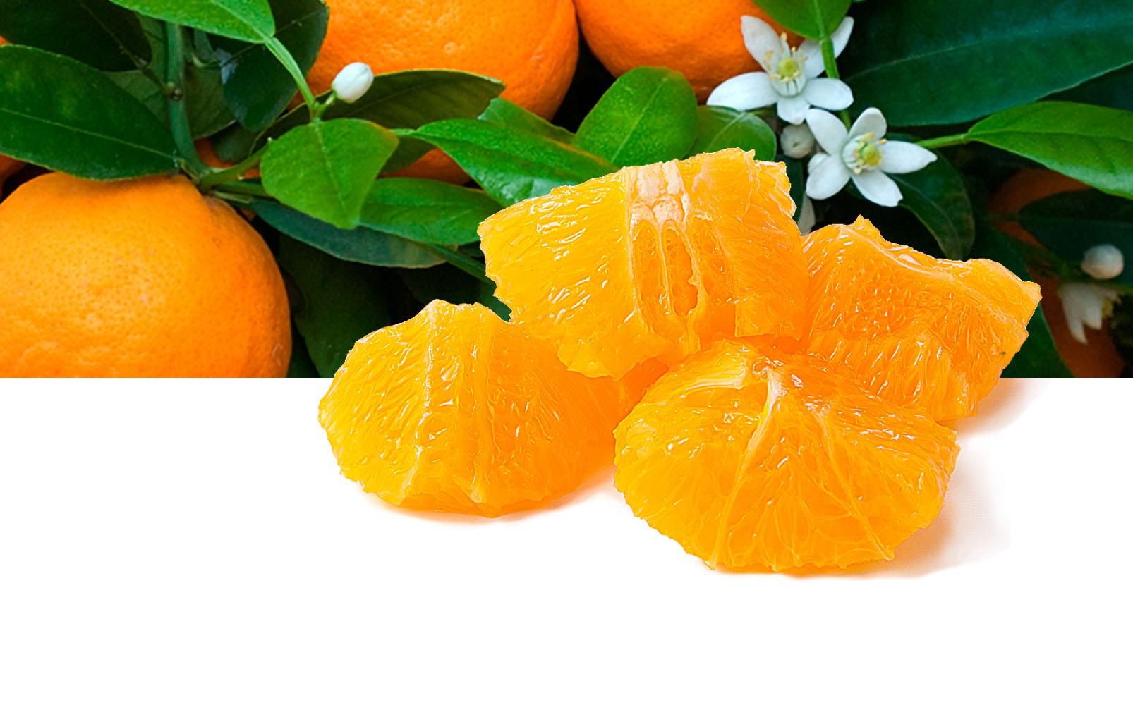 Orangen Würfel, 25x30mm