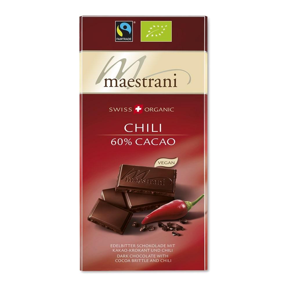 Tafelschokolade Chili (15x80g)