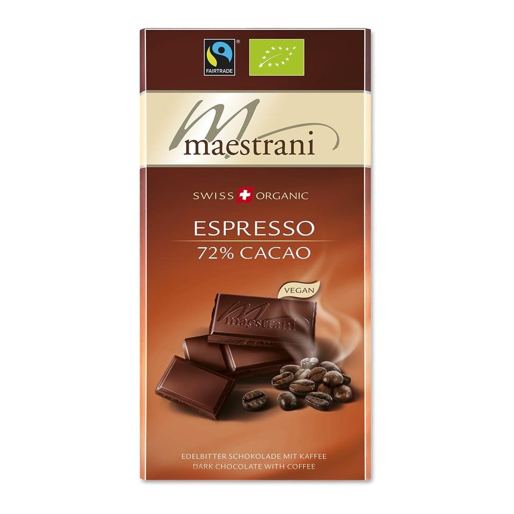 Tafelschokolade Espresso (15x80g)
