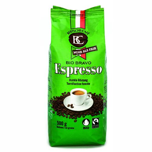 Bio Bravo Espresso gemahlen