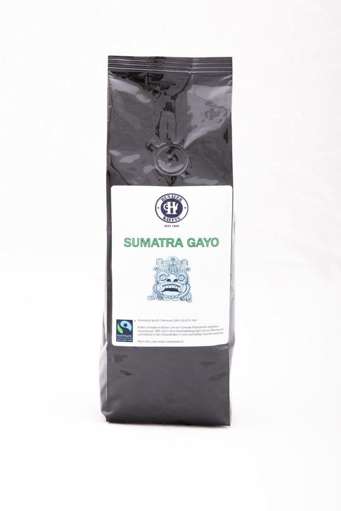 Sumatra Gayo, Bohnen