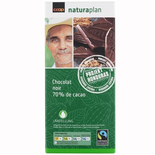 Tafelschokolade Noir 70 Prozent Cacao (2x100g)
