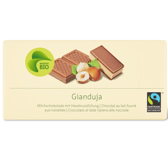 Tafelschokolade Gianduja