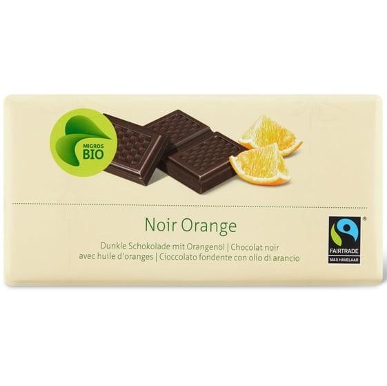 Tafelschokolade Noir Orange