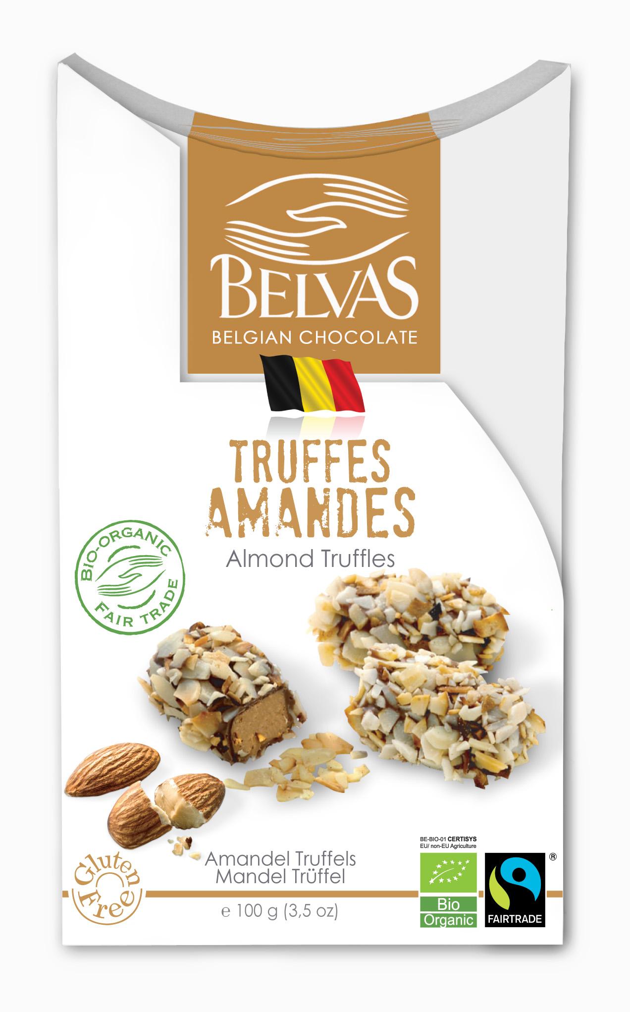 Belvas – Truffes amandes – 100 gr
