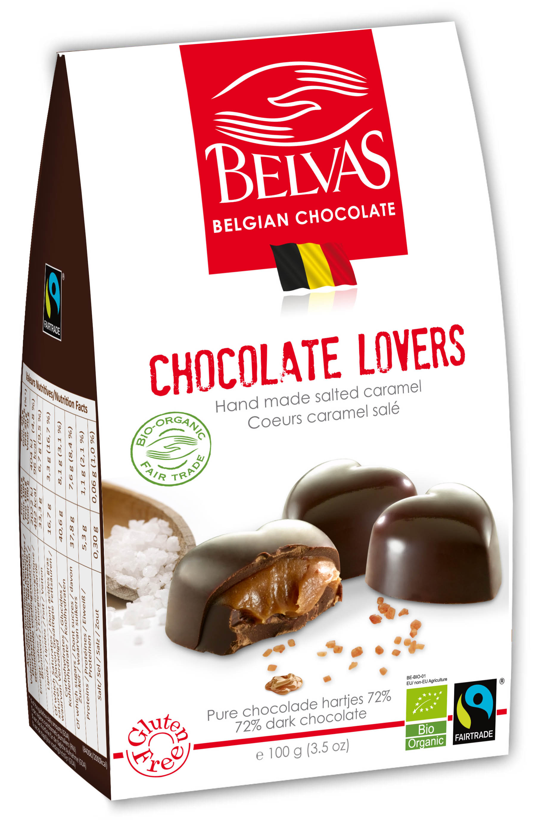 Belvas – Chocolate lovers – 100 gr