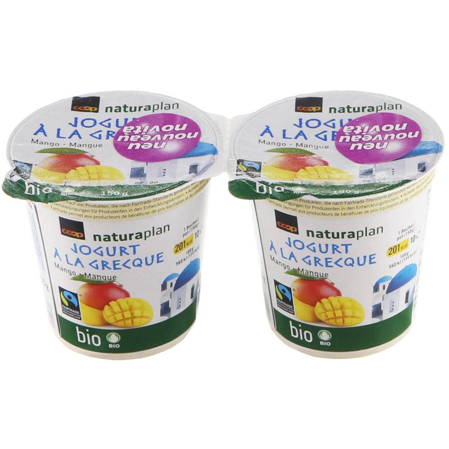Jogurt à la Grecque, Mango (2x150g)