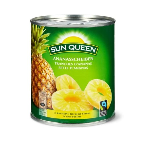 Ananasscheiben
