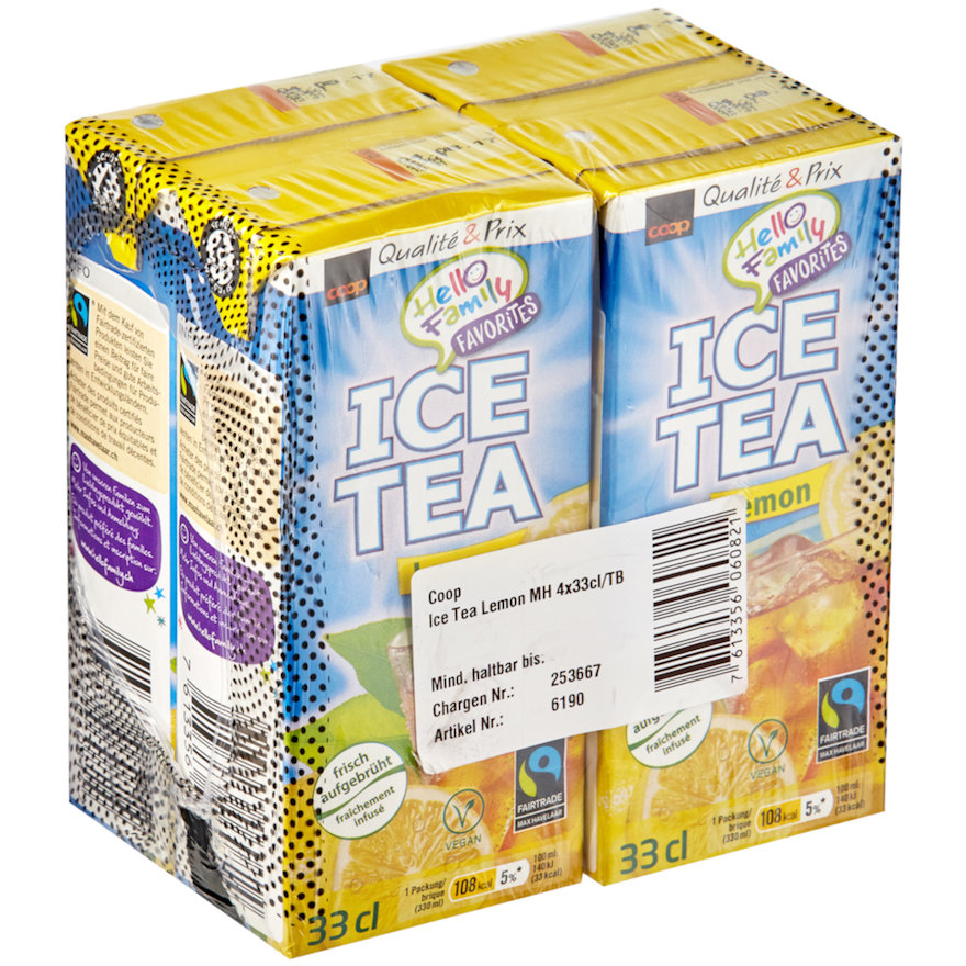 Ice Tea Lemon (4x33cl)