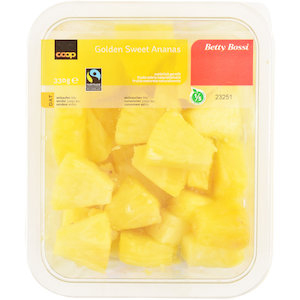Golden Sweet Ananas, Würfel
