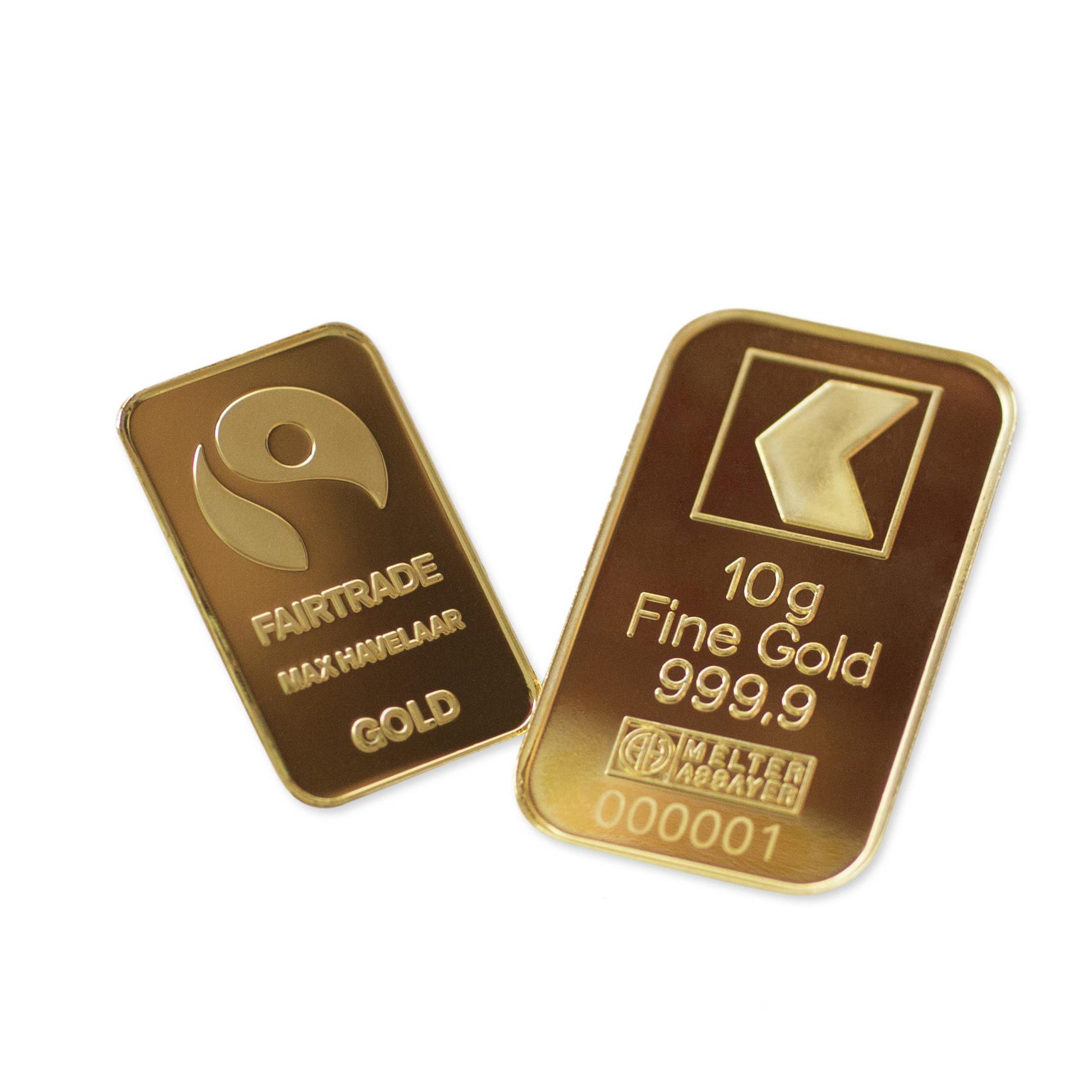24 Karat Goldbarren