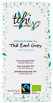 Tohi - Pure chocolade met Earl Grey thee - 70 gr