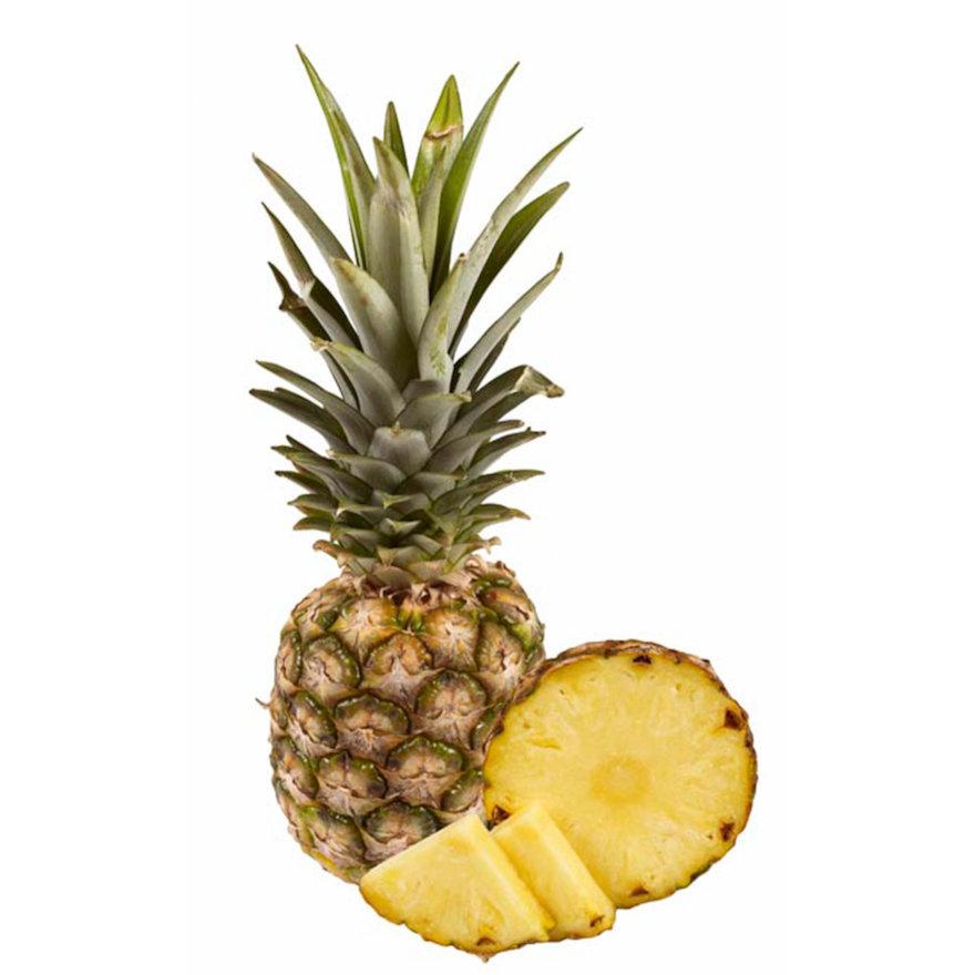 Ananas halb, geschält
