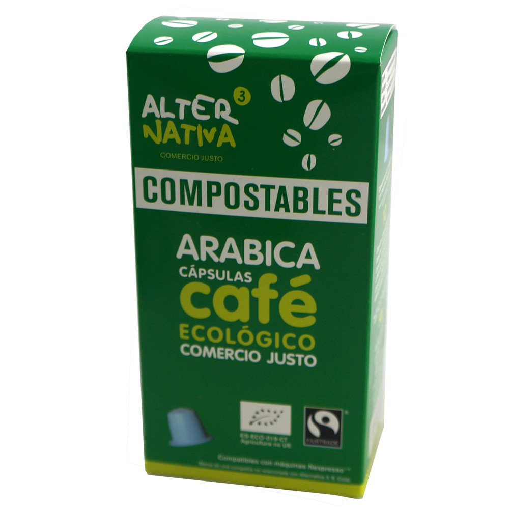 Cápsulas compostables de cafè Arabica