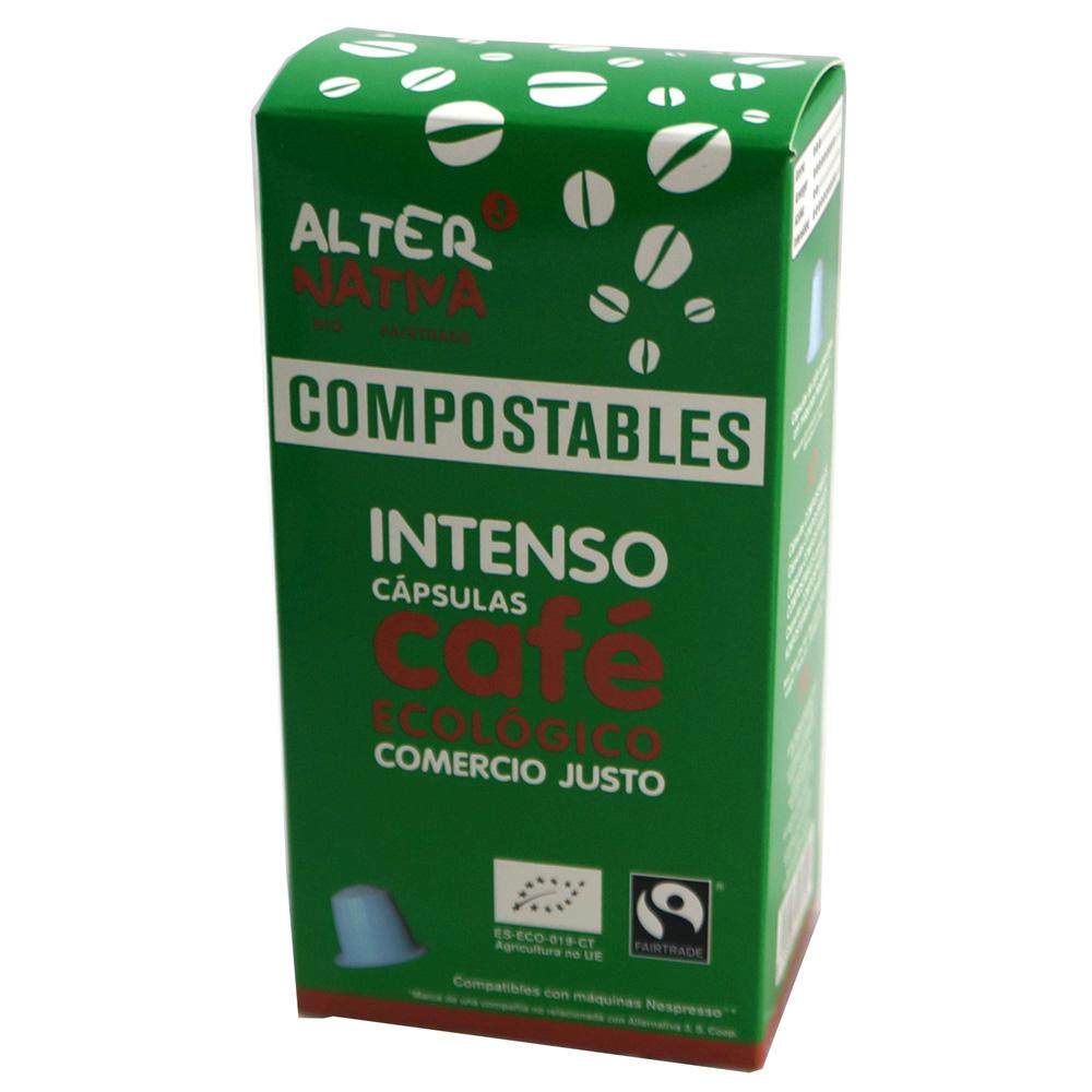 Cápsulas compostables de cafè Intenso