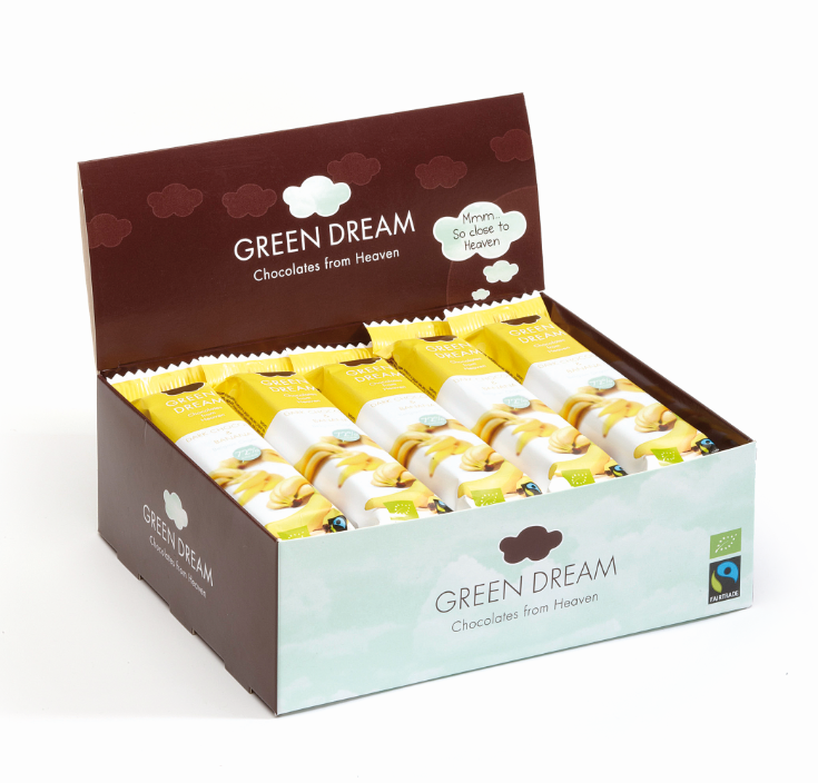 Green Dream – Chocolat noir à la Banane – 600 gr