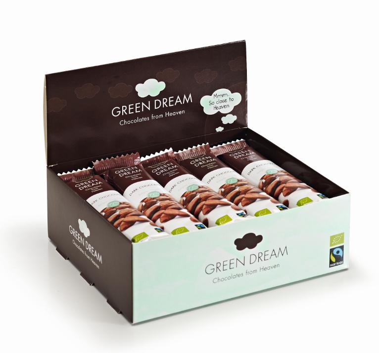 Green Dream - Chocolat noir - 600 gr