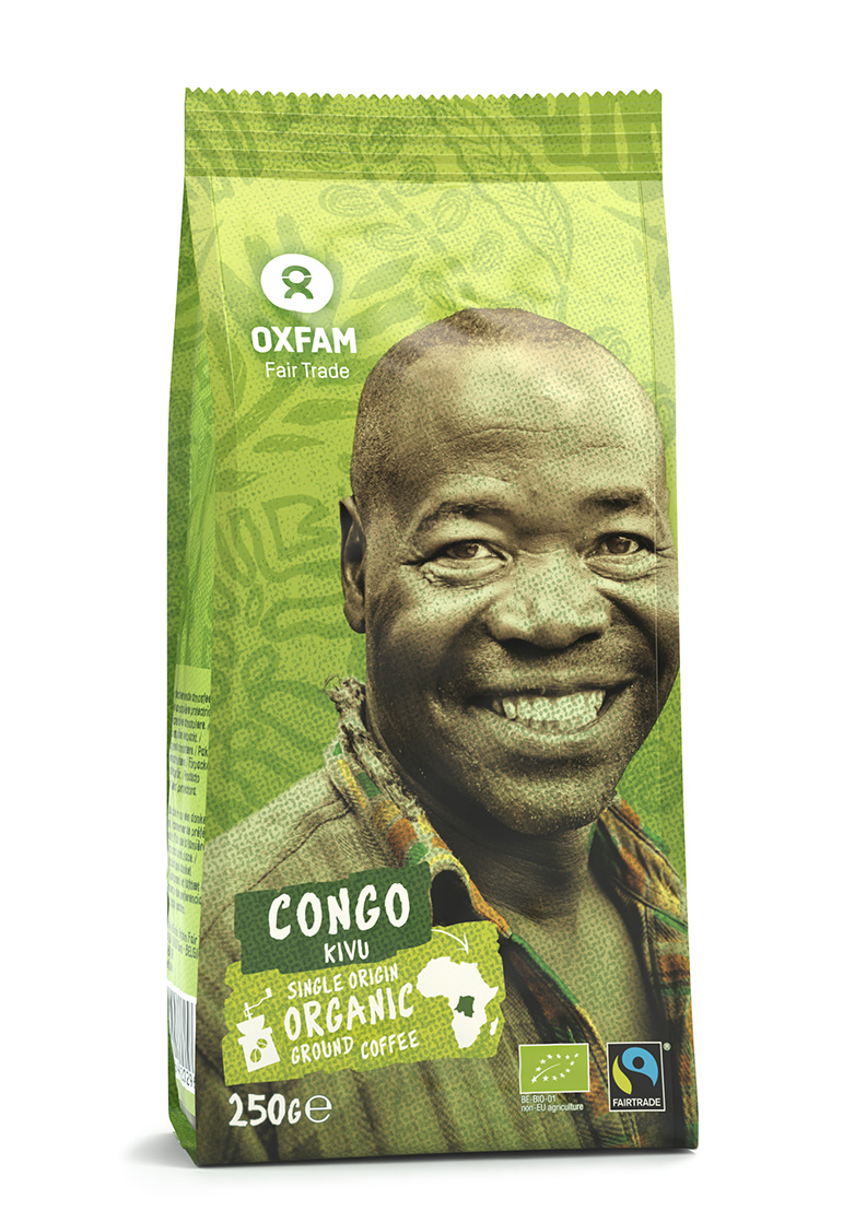 Oxfam Fair Trade – Café Congo bio moulu – 250 gr