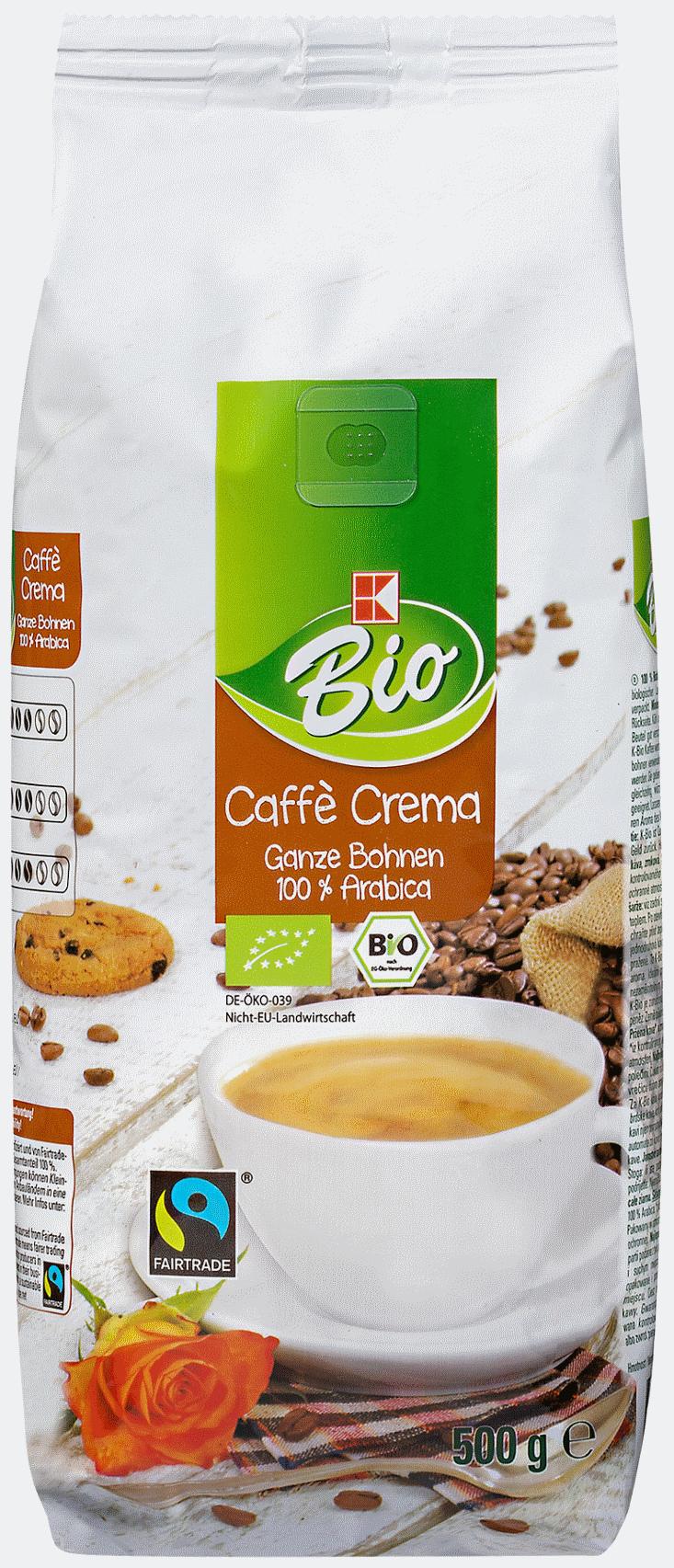 Caffè Crema ganze Bohne