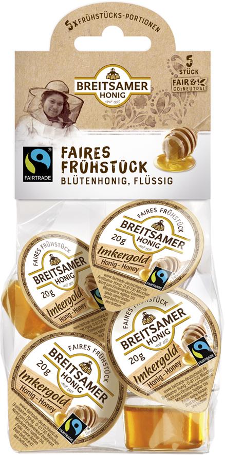 Imkergold Frühstücks-Portionen 5x20g, flüssig