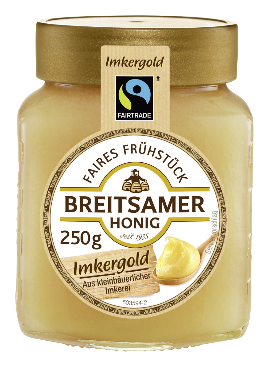 Imkergold Honig, cremig