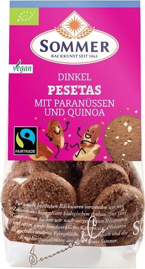 Dinkel Pesetas – Mit Paranüssen und Quinoa