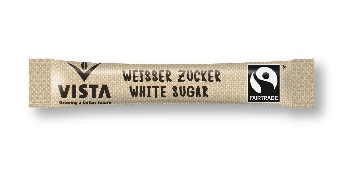 Weisser Zucker, 1000 x 3g