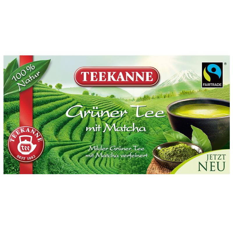 Grüner Tee mit Matcha