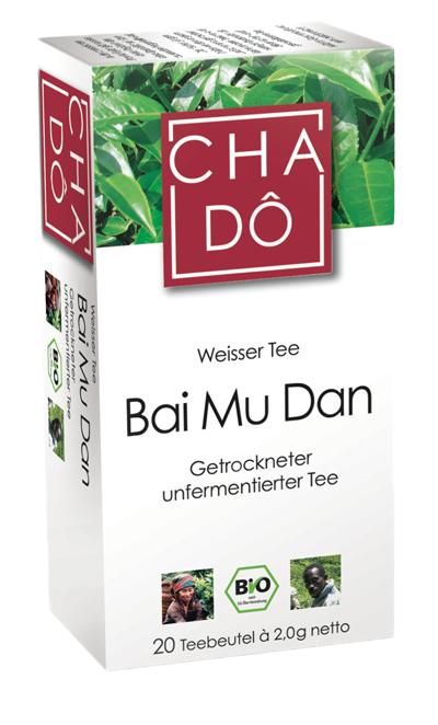 Weisser Tee Bai Mu Dan, 20x2g