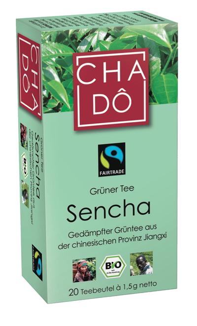 Grüner Tee Sencha, 20x1,5g