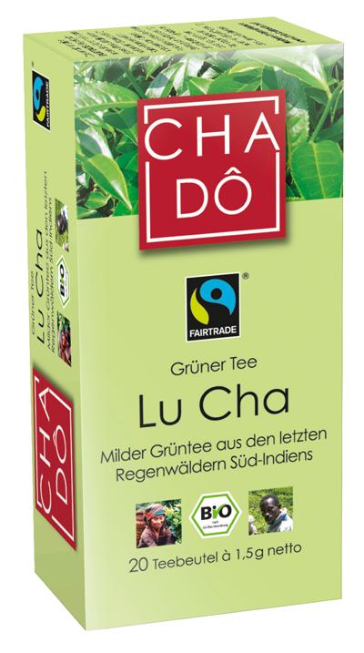Grüner Tee Lu Cha, 20x1,5g
