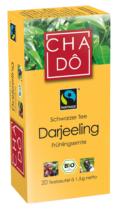 Schwarzer Tee Darjeeling, 20x1,5g