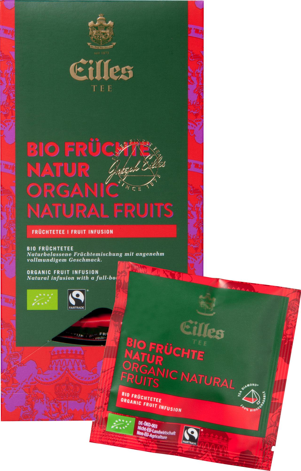 Bio Früchte Natur Tea Diamond, 5×20 à 4g