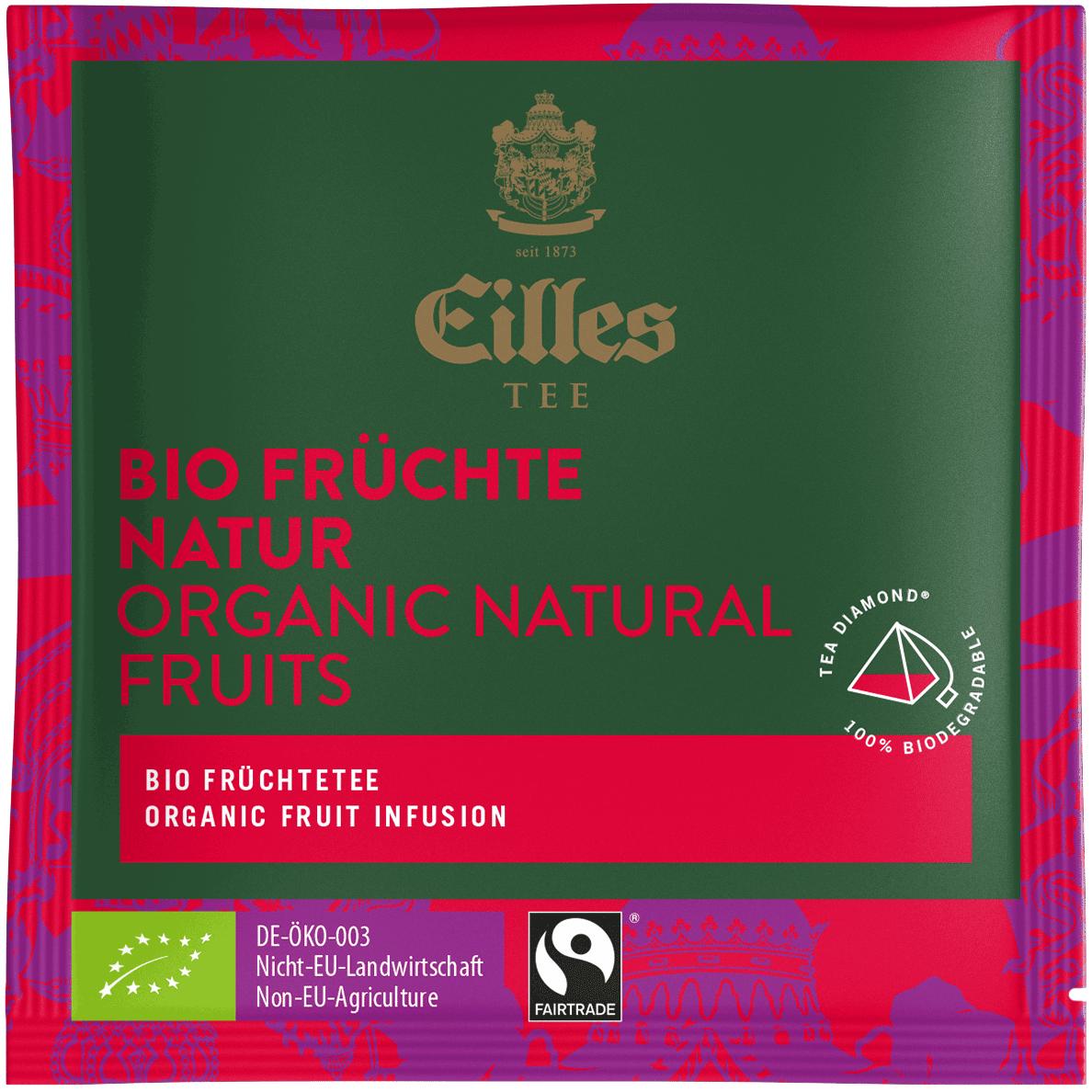 Bio Früchte Natur, 50x4g