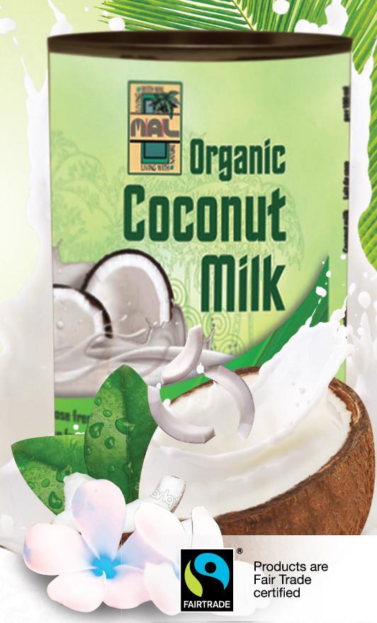 Coconut Milk, 17% Fett