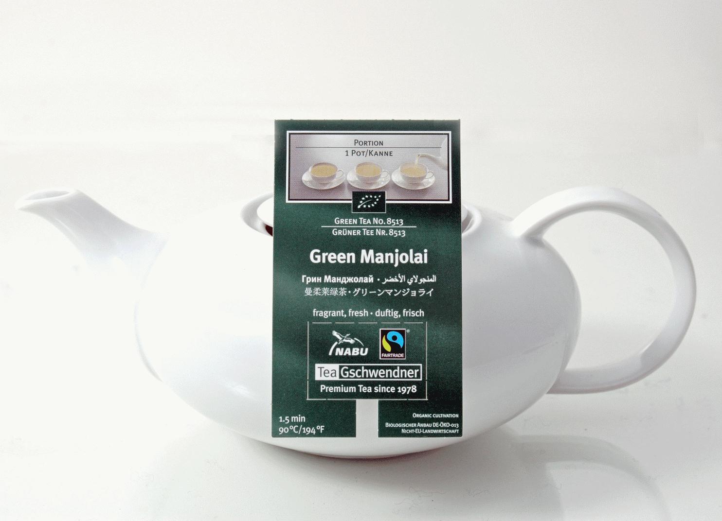 Green Manjolai BIO MasterBag Kanne