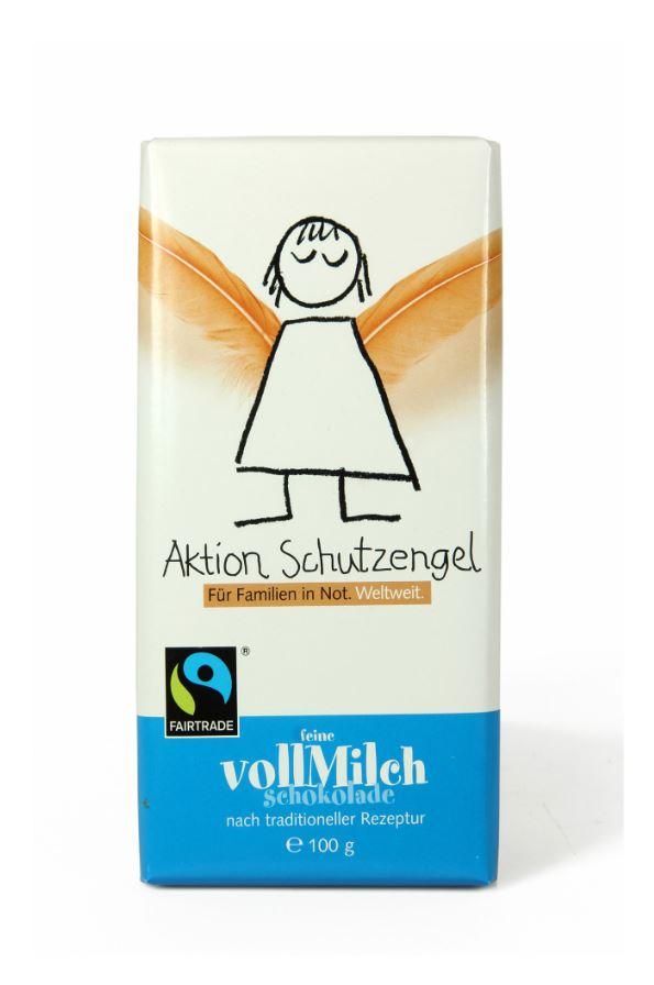 Aktion Schutzengel Vollmilch-Schokolade
