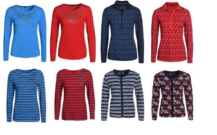 Damen T-Shirt & Polo Shirt, Langarm