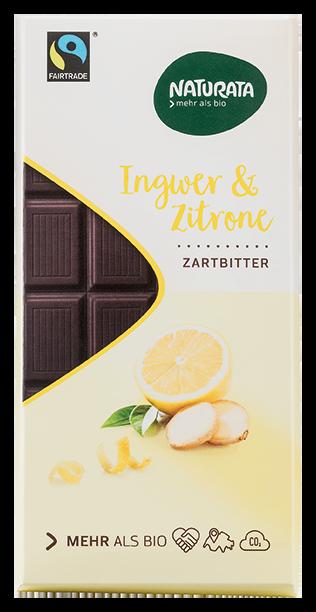 Ingwer & Zitrone, zartbitter