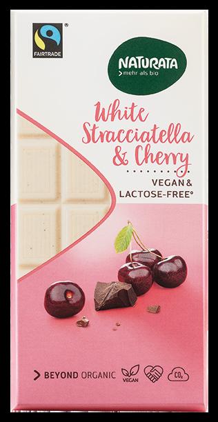 White Stracciatella Cherry, vegan & lactose-free