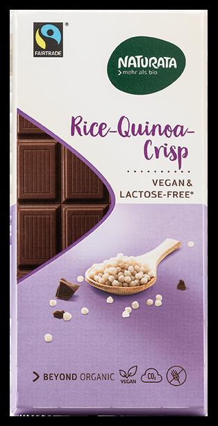Rice-quinoa Crisp, vegan & lactose-free