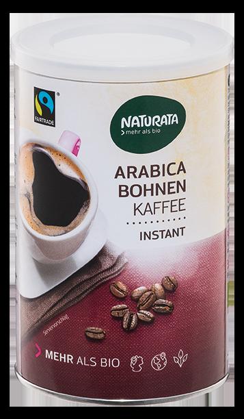 Instant Bohnenkaffee Arabica