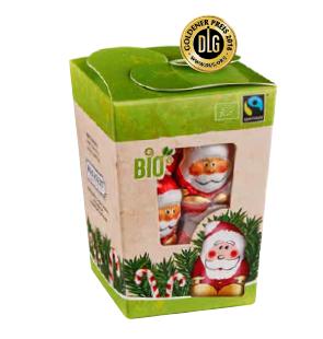 """Bio Fairtrade """"Minis"""" Wichtel in der Naschbox"""