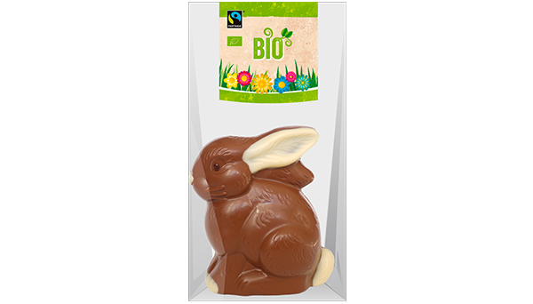 Bio Fairtrade Confi Sitzhase 100g