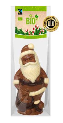 Bio Fairtrade Confi Weihnachtsmann 100g