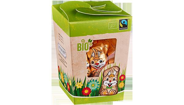 """Bio Fairtrade """"Minis"""" Häschen in der Naschbox"""