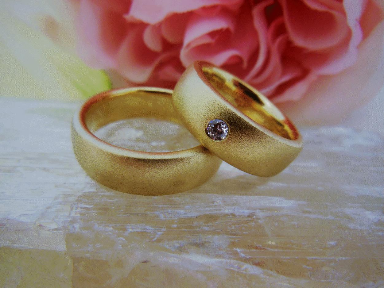 Ringe und Trauringe, gold